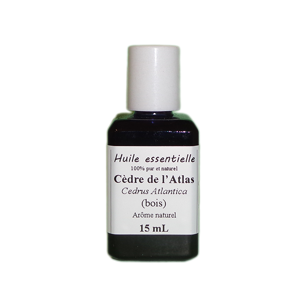 Huiles essentielles 15 ml Cèdre de l'Atlas