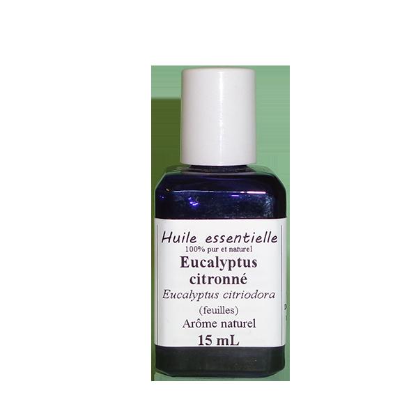 Huiles essentielles 15 ml Eucalyptus citronné