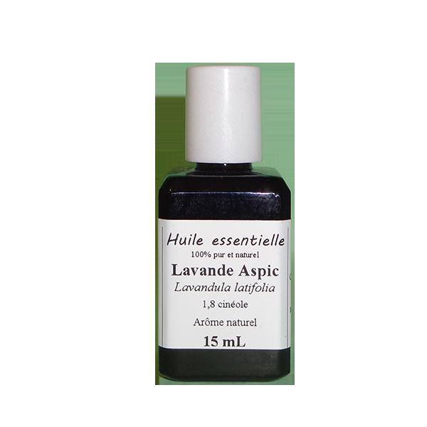 Huiles essentielles 15 ml Lavande aspic