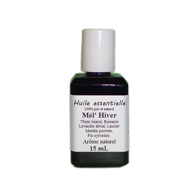 Huiles essentielles 15 ml Mél Hiver