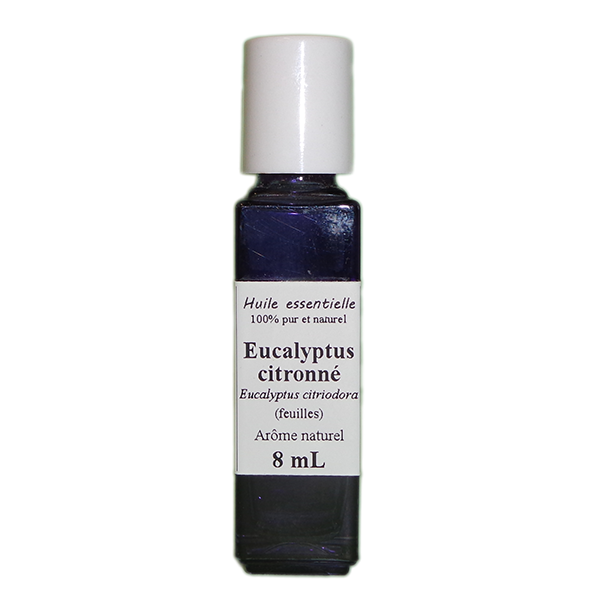 Huiles essentielles 8 ml Eucalyptus citronné