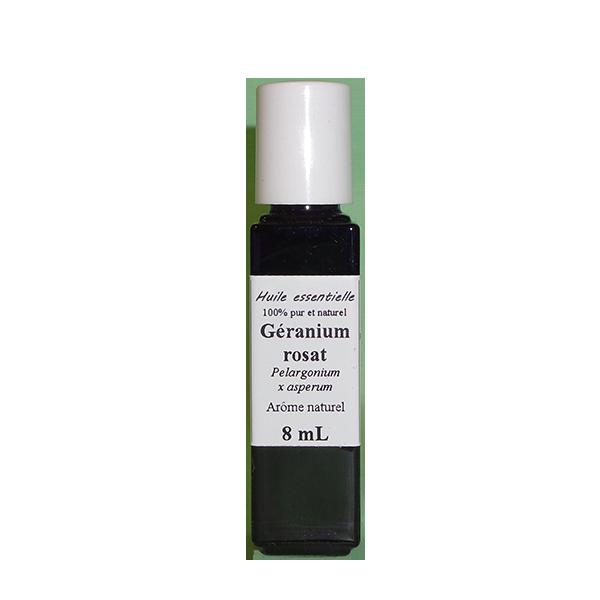 Huiles essentielles 8 ml Géranium rosat