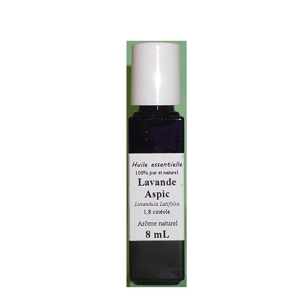 Huiles essentielles 8 ml Lavande aspic