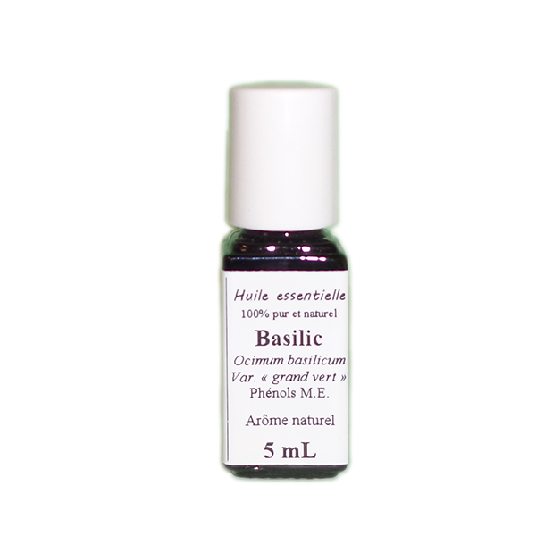 Huiles essentielles Basilic
