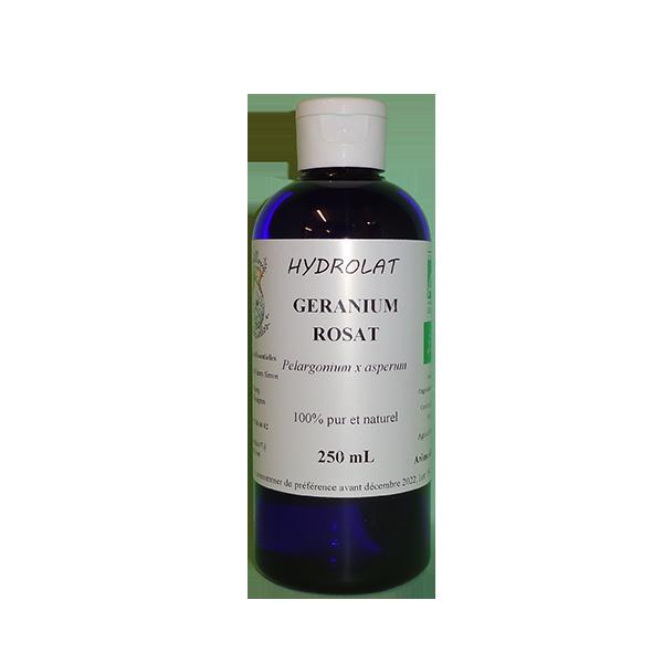 Hydrolat Géranium rosat